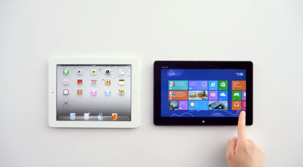Windows8とiPadの比較動画
