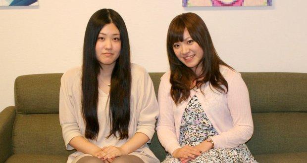 オタク女子の2人。 左:さっとみー|右:みさみさ