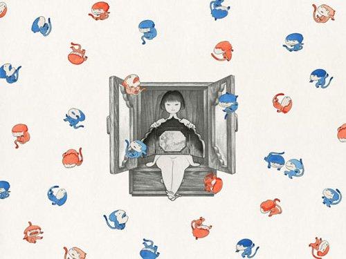 NY在住の異色若手作家・近藤聡乃 個展「KiyaKiya 1/15秒」が開催