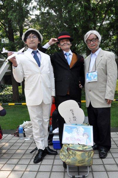宮崎駿監督と『風立ちぬ』より堀越二郎とカプローニ