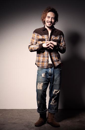 三代目パークマンサーさんの、役者・サンガさんとしての姿 / 画像は「エムズファクトリー」公式サイトより