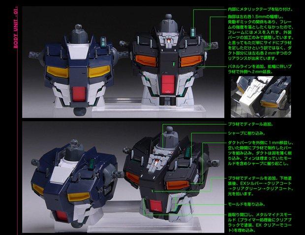 スゴすぎる「1/100 MG RX-93 νガンダム Ver.Ka」改修塗装済完成品3
