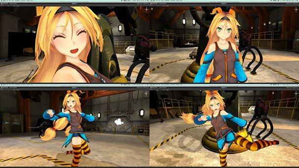 ユニティちゃんの3Dモデル