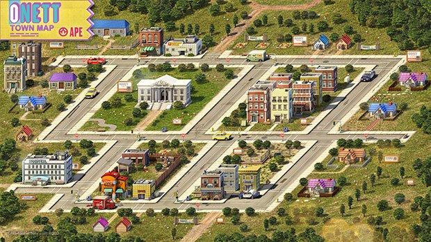 3DCGで再現された『MOTHER2』の街並みがすごすぎる!