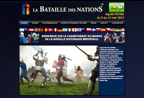 Le Championnat du Monde La Bataille des Nations