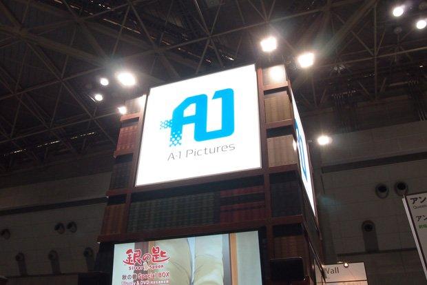 原画や資料、作品の素を大公開! AnimeJapan「A-1 Pictures」ブース