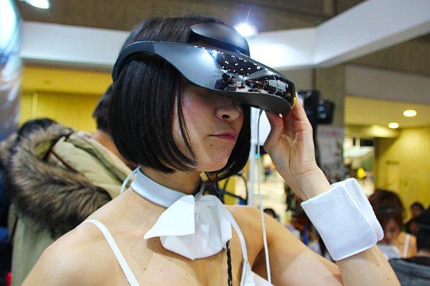 ヘッドマウントディスプレイで視界360度アイマス空間!AnimeJapan技術体験