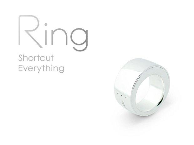 まるで魔法! 指輪型デバイス「Ring」が25万ドル資金調達達成