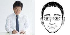 左:堀江貴文さん 右:佐渡島庸平さん