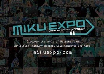 初音ミクを世界へ  HATSUNE MIKU EXPO第1弾はインドネシアで5月開催
