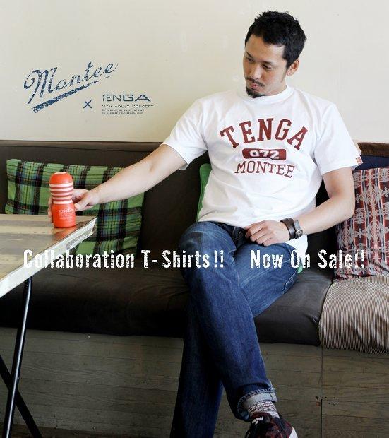 TENGAとアパレルブランドがコラボ! おしゃれすぎるTシャツ発売