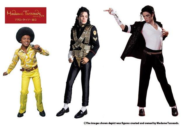 ジャクソン5時代の天使マイケルも! 等身大フィギュアが初上陸