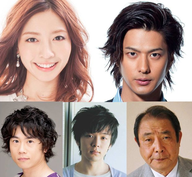 映画『海月姫』キャスト第2弾発表! 片瀬那奈、もこみち、平泉成ら