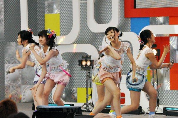 【TIF2014】5年連続出演の東京女子流! 堂々のパフォーマンスで魅了