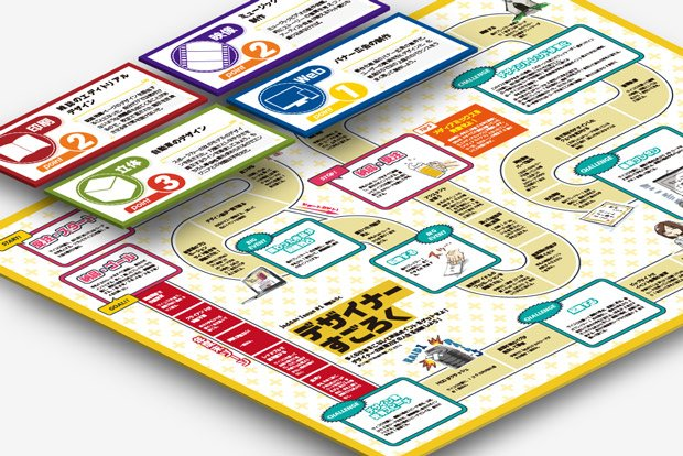 業界あるある体験ボードゲーム「デザイナーすごろく」つくってみた!