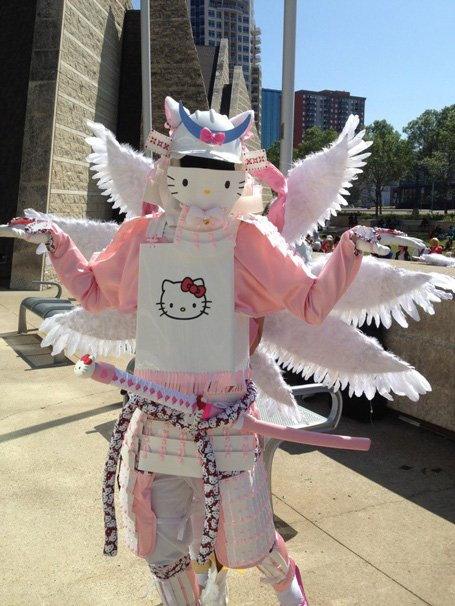 Hello Kitty Samurai MAXIMUM