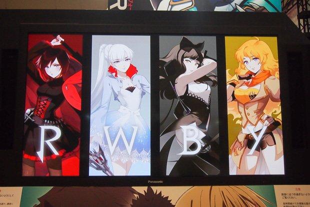 海外3DCGアニメ『RWBY』吹き替え版BD・DVD販売決定! コミケで発表