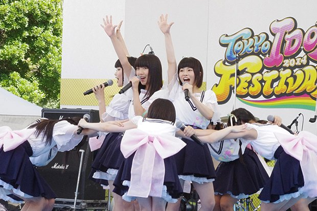 【TIF2014】ピクシブの「つくドル!」始動! 虹のコンキスタドールが初ライブ