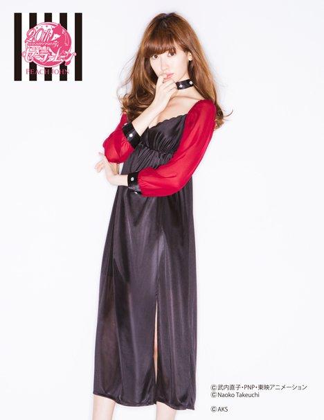 「セーラームーンなりきりドレス」ブラックレディ