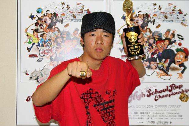 「第6回高校生ラップ選手権」優勝者・MC☆ニガリ! 大会直後にインタビュー