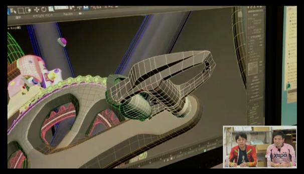 3DCGで作られたロードバイク