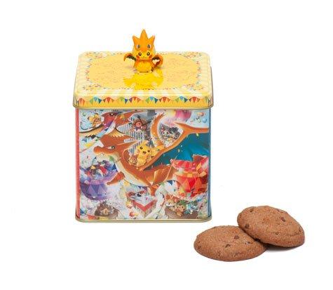 クッキー缶「ポケモンセンターメガトウキョーOP」980円(税抜き)