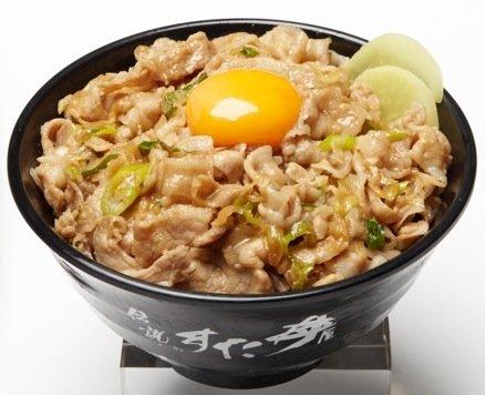 伝説のすた丼と生姜丼が630円→500円に! スタミナ全開じゃあああ