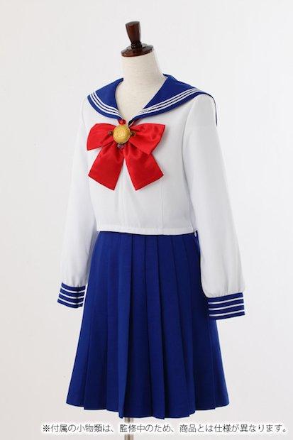 セーラームーン公式制服が発売! 各中学校の制服を再現