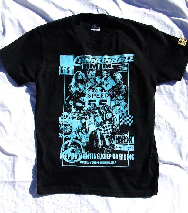 AV監督密着『劇場版BiSキャノンボール』からハードコアなTシャツ登場!