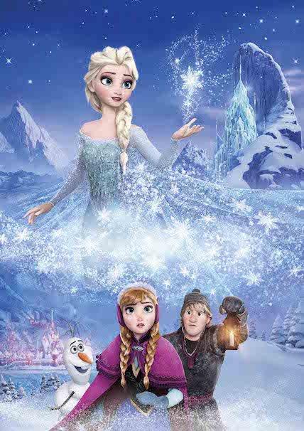 『アナと雪の女王』©2015 Disney