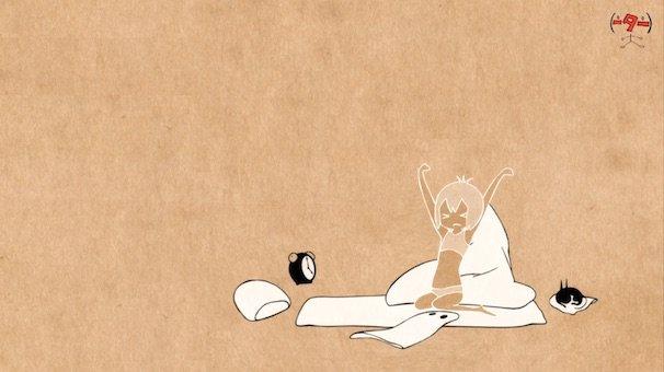 『おばけちゃん』/(c) CCMS  (c) nihon animator mihonichi LLP.