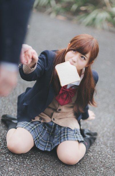 放課後JKとのデートがフリー素材に! タイムスリップ女子高生が胸アツ
