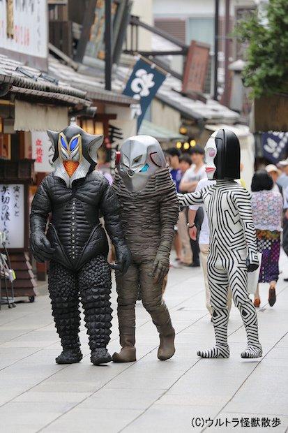 怪獣が街ブラする姿に癒される… 『ウルトラ怪獣散歩』放送決定!