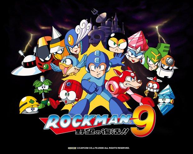 クリアするまで『ロックマン9』をゲーム実況! 懐かしのファミコン風