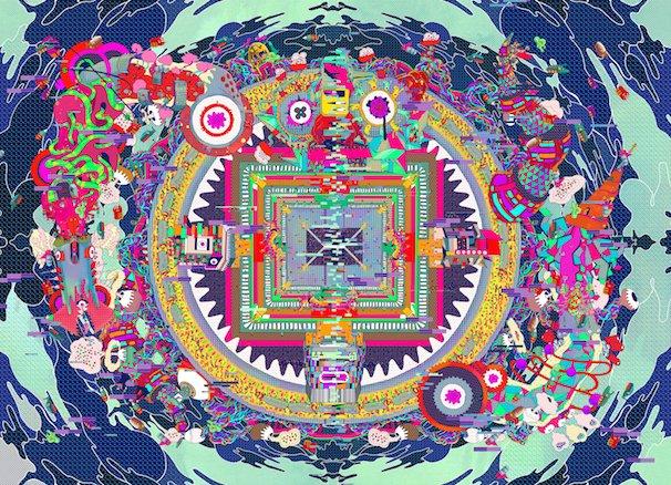 たかくらかずきさん「渋谷曼荼羅」