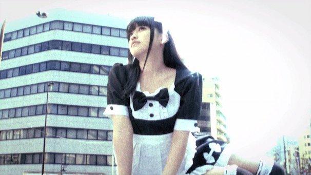 かざりさん(「メイド」篇/動画のスクリーンショット)