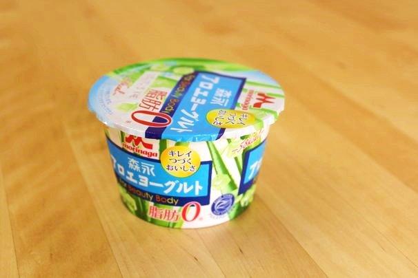 森永 アロエヨーグルト脂肪0(58kcal/135円)