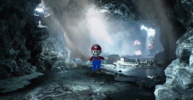 「マリオ64」が超リアルな世界で生まれ変わるリメイク動画が圧巻