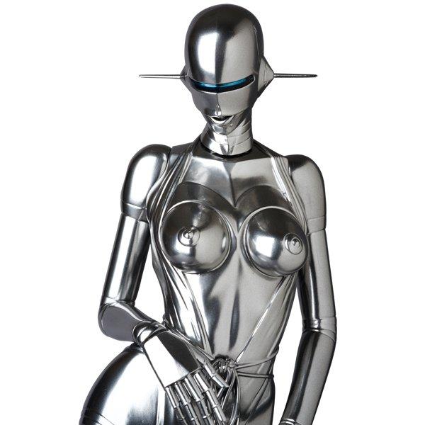 メタルな女体絵「セクシーロボット」が立体化♡ 100体限定お値段16万