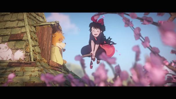 「Tribute to Hayao Miyazaki」スクリーンショット