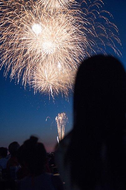 花火を観るRYUTist2
