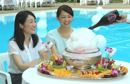助けて! 1杯7万円の超高級ドンペリかき氷が売れないの(´;ω;`)