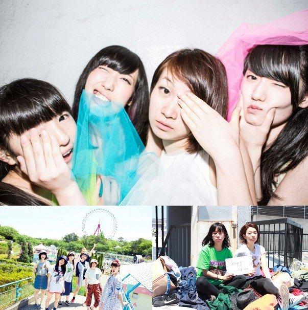 上:校庭カメラガール、左下:lyrical school、右下:Y.I.M<