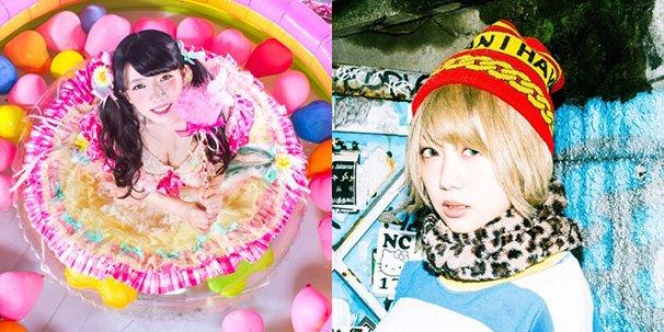 左:ぱいぱいでか美さん/右:篠崎こころ(DJギズモ)さん
