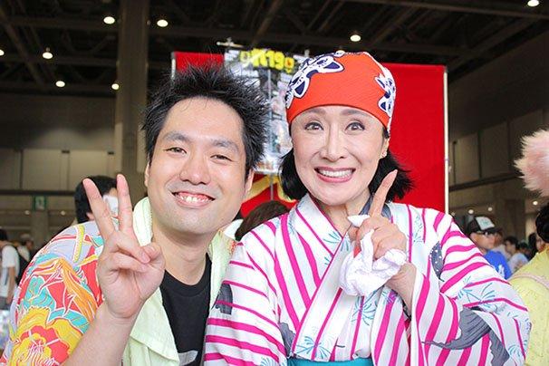 小林幸子さんとビートまりおさん