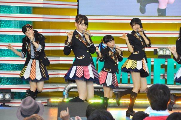TIF2015 HKT48 ホットステージ4