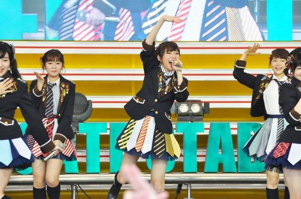 TIF2015 HKT48 ホットステージ1