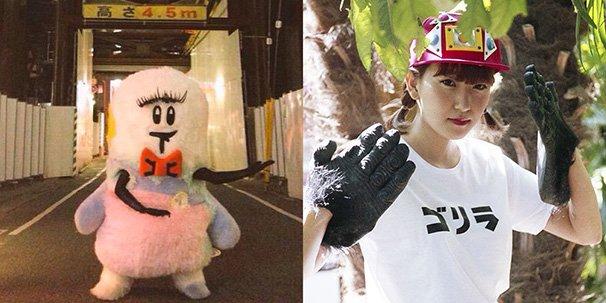左:しもっきーさん/右:あっこゴリラさん