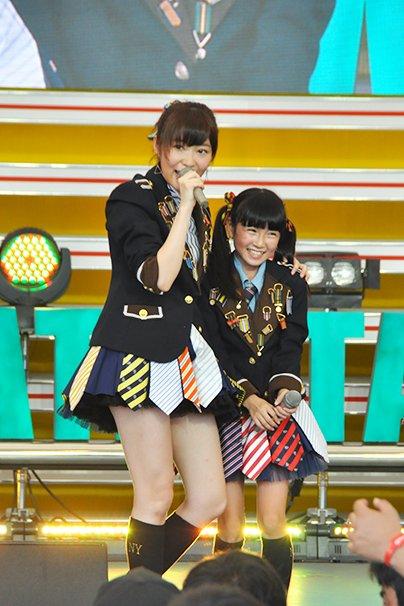 TIF2015 HKT48 ホットステージ5