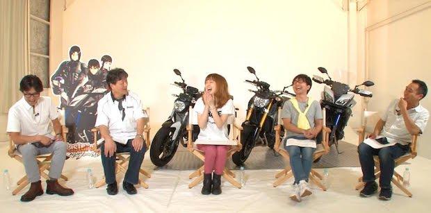 交通規則を守る? ヤマハのバイクアニメがツッコミどころ満載! その秘密に迫る座談会(前編)